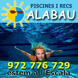 Piscines i recs Alabau a l'Escala, matrial per a piscines i manteniment